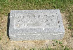 Violet M. Vi <i>Heise</i> Heitman