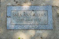 Sara Ann Adams