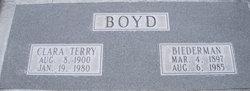 Clara <i>Terry</i> Boyd