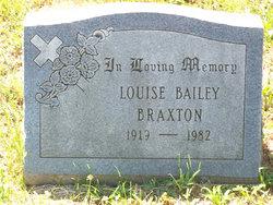 Louise <i>Braxton</i> Bailey