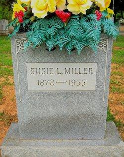 Susie J <i>Lentz</i> Miller