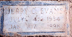 Jerry Clarence Evans