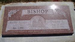 Ruby <i>Allen</i> Bishop