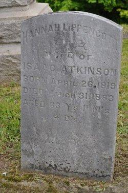 Hannah <i>Lippencott</i> Atkinson