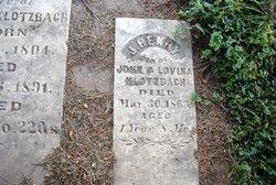 John Henry Henry Klotzbach