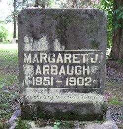 Margaret Jane <i>Ackley</i> Arbaugh