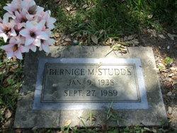 Bernice M Studds
