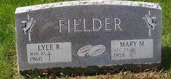 Mary M <i>Conway</i> Fielder