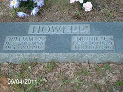 Minnie C. <i>King</i> Howell