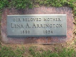 Lena Alice <i>Carter</i> Arrington