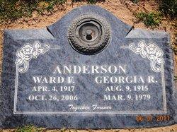 Georgia R Anderson