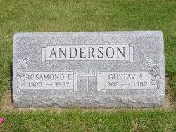 Gustav A Anderson