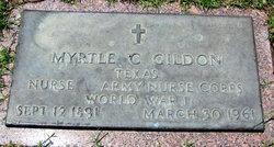 Myrtle C Gildon
