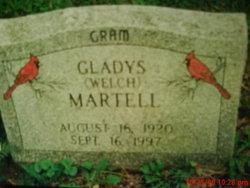 Gladys Emmaline <i>Welch</i> Martell