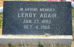 Leroy Adair