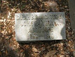 Sarah B Adriance