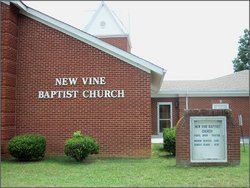 New Vine Baptist Church Cemetery