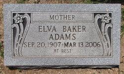 Elva Hazel <i>Boyd</i> Adams