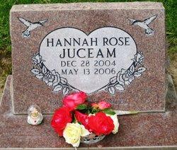 Hannah Rose Juceam