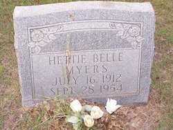 Hettie Belle <i>Adams</i> Myers