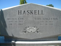 Lois <i>Singleton</i> Haskell