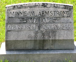 Minnie M. <i>Arnold</i> Armstrong