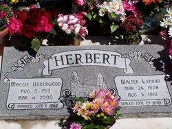 Maggie May <i>Underwood</i> Herbert