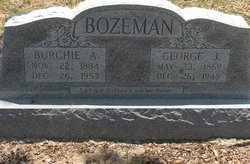 Burchie Ann <i>Barge</i> Bozeman
