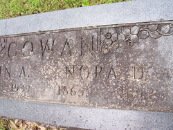 Nora <i>Dinwiddie</i> Cowan