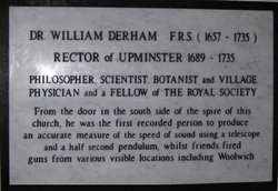 Dr William Derham