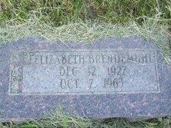 Elizabeth Agnes Betty <i>Mandelke</i> Brendemuhl