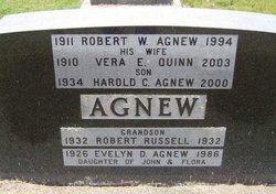 Vera E <i>Quinn</i> Agnew