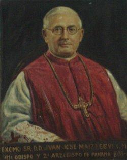 Archbishop Juan Jose Maiztegui y Besoitaiturra