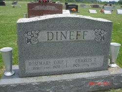 Rosemary <i>Cole</i> Dineff