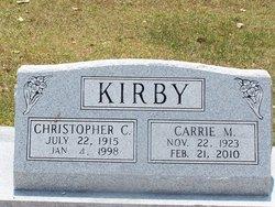 Carrie Mae Cater <i>Clark</i> Kirby