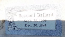 Rosadell <i>Rogers</i> Ballard