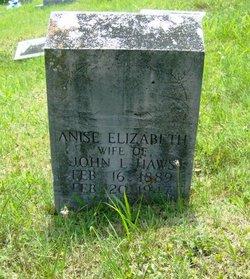 Anise Elizabeth <i>Salter</i> Haws