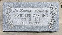 David Lee Ormond
