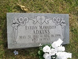 Evelyn M <i>Massey</i> Adkins