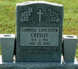 Carroll Lancaster Chesley
