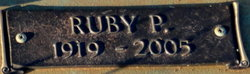 Ruby P. <i>Hargett</i> Browning