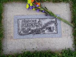 Frances J <i>Skinner</i> Atkinson