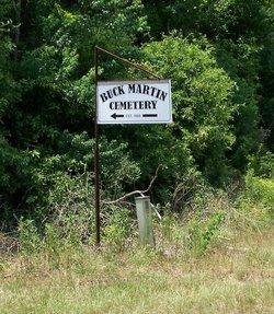 Buck Martin Cemetery