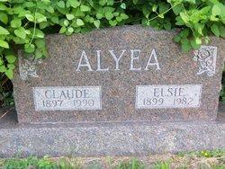 Claude F Alyea