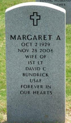 Margaret A <i>Corder</i> Bundrick