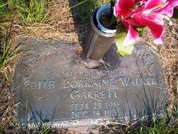 Edith Lorraine <i>Walker</i> Garrett