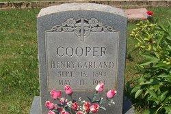 Henry Garland Cooper