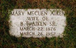 Mary Jane <i>McCuen</i> Aiken