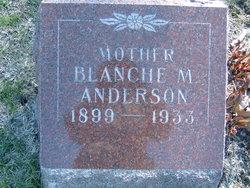 Blanche Mildred <i>Morgan</i> Anderson