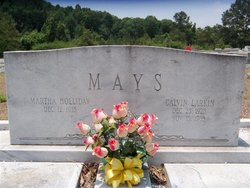 Martha <i>Holliday</i> Mays
